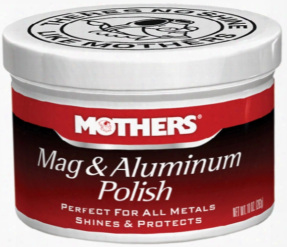 Mothers Mag & Aluminum Polish 10 Oz.
