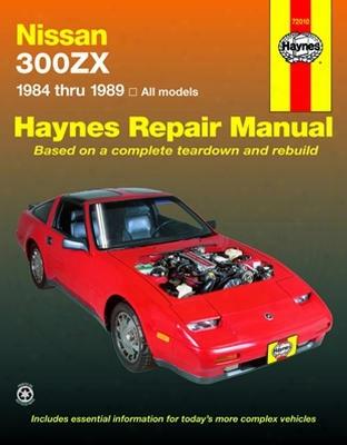 Nissan 300zx Haynes Repair Manual 1984-1989