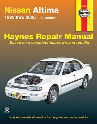 Nissan Altima Haynes Repair Manual 1993-2006