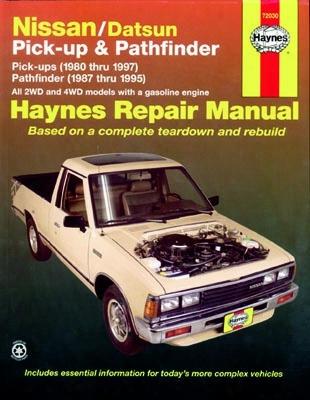 Nissan & Datsun Pick-up & Pathfinder Haynes Repair Manual 1980-1997
