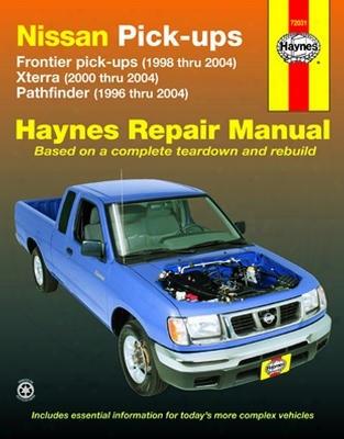 Nissan Frontier Xterra & Pathfinder Haynes Repair Manual 1996-2004