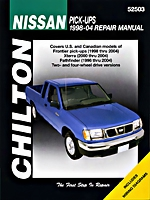 Nissan Frontier/pathfinder 1998-04 Chilton Manual