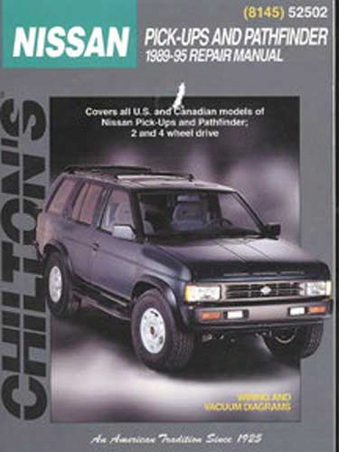 Nissan Pathfinder & Pick-ups Chilton Repair Manual 1989-1995