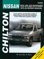 Nissan Pick-ups/pathfinder 1970-88 Chilton Manual