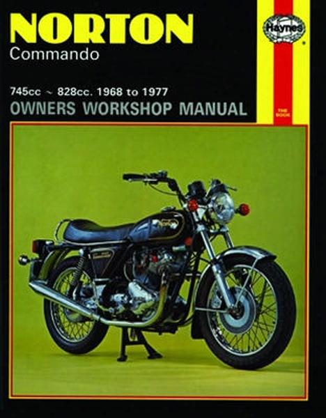 Norton Commando Haynes Repair Manual 1968 - 1977
