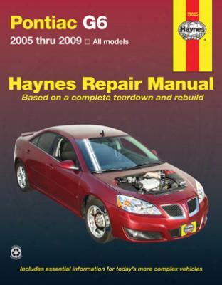 Pontiac G6 Haynes Repair Manual 2005-2009