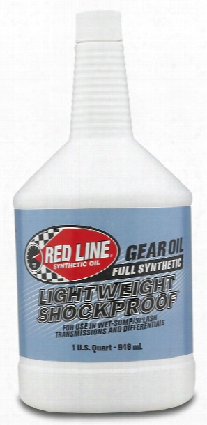 Red Line Lightweight Shockproof Gear Oil 1 Qt.