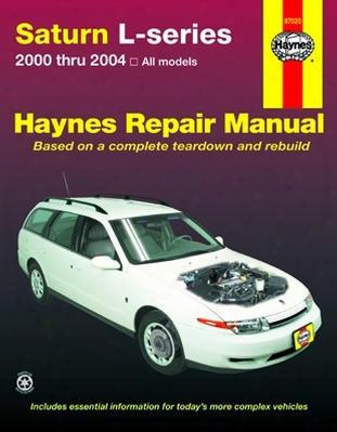 Saturn L-series Haynes Repair Manual 2000 - 2004