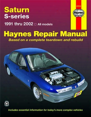 Saturn S-series Haynes Repair Manual 1991-2002