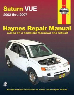 Saturn Vue Haynes Repair Manual 2002-2007