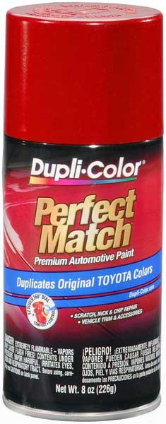 Scion & Toyota Metallic Barcelona Red Auto Spray Paint -3r3 2006-2014