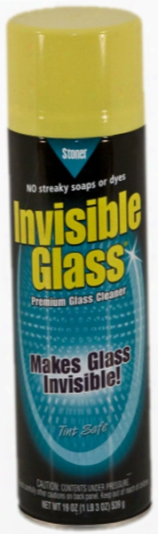 Stoner Invisible Glass Aerosol Glass Cleaner 19 Oz.