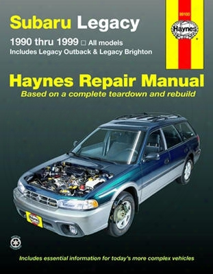 Subaru Legacy Haynes Repair Manual 1990-1999