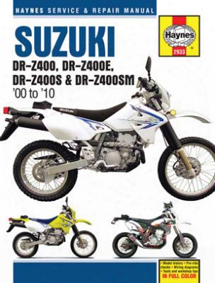 Suzuki Dr-z400 Series Haynes Repair Manual 2000-2010