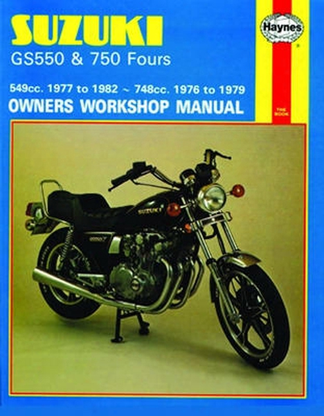 Suzuki Gs550 And 750 Haynes Repair Manual 1976 - 1982