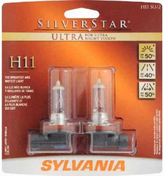 Sylvania H11 Silverstar Ultra Twin Pack