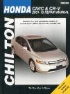 Chilton Repair Manual For Honda Civic & CR-V 2001-2010