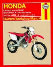 Haynes Honda CRF250 and CRF450 2002 - 2006