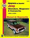 Jeep Cherokee Wagoneer y Comanche Haynes Manual de Reparacin 1984-2000