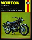 Norton Commando Haynes Repair Manual 1968 - 1977