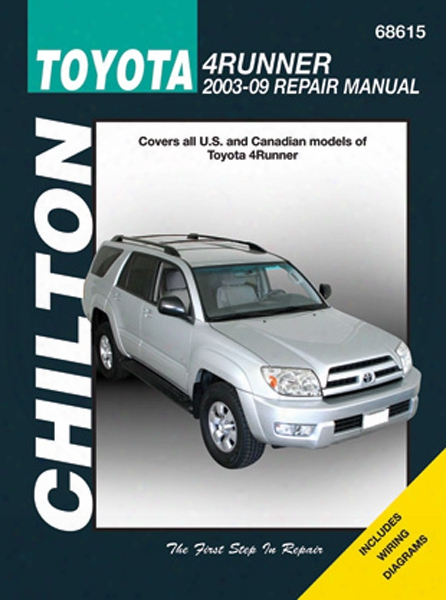 Toyota 4runner Chilton Repair Manual 2003 - 2009