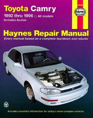 Toyota Camry & Avalon Haynes Repair Manual 1992-1996