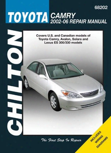 Toyota Camry Chilton Repair Manual 2002-2006