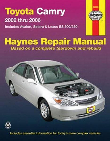 Toyota Camry Haynes Repaair Manual 2002 - 2006