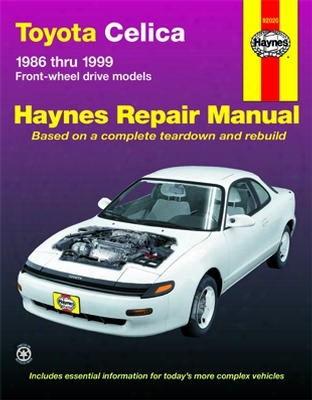 Toyota Celica Haynes Repair Manual 1986-1999