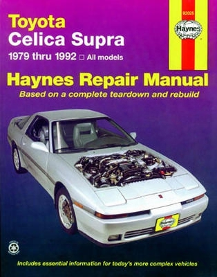 Toyota Celica Supra Haynes Repair Manual 1979-1992