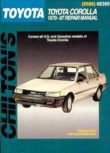 Toyota Corolla 1970-87 Chilton Manual