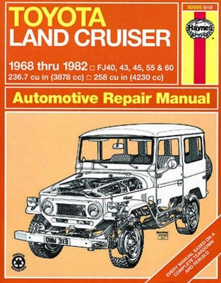Toyota Land Cruiser Hayes Repair Manual 1968-1982