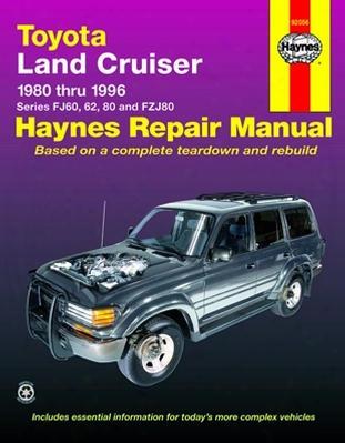 Toyota Land Cruiser Haynes Repair Manual 1980-1996