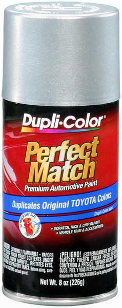 Toyota Metallic Silver Auto Spray Paint - 147 148 1985-1993