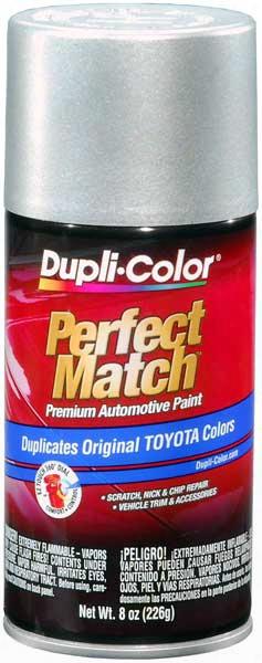 Toyota Metallic Silver Auto Spray Paint - 1c8 1999-2006