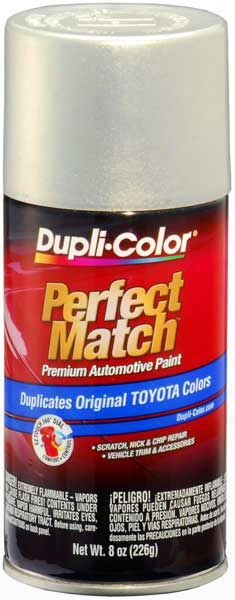 Toyota Metallic Silver Opal Auto Spray Paint - 1c4 1999-2002