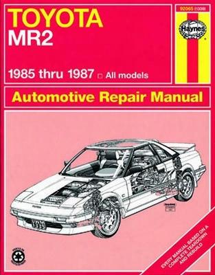 Toyota Mr2 Haynes Repair Manual 1985 - 1987