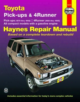 Toyota Pick-ups & 4-runner Haynes Repair Manual 1979-1995
