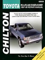 Toyota Pick-ups/land Cruiser/4runner 1997-00 Chilton Manual
