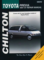 Toyota Previa 1991-97 Chilton Manual