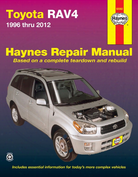 Toyota Rav4 Haynes Repair Manual 1996-2012