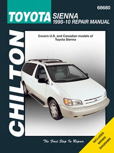 Toyota Sienna Chilton Repair Manual 1998-2010