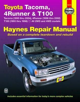 Toyota Tacoma 4 Runner & T100 Haynes Repair Manual 1993-2004