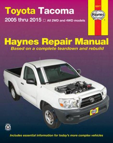 Toyota Tacoma Haynes Repair Manual 2005-2015