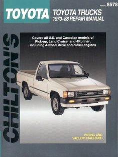 Toyota Trucks 1970-88 Chilton Manual