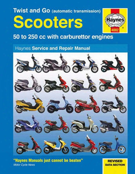 Twist And Go Automatic Transmission Scooters Haynes Repair Manual