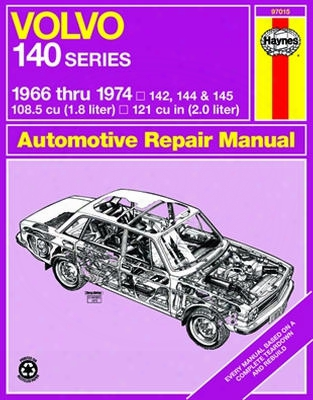 Volvo 140 Series Haynes Repair Manual 1966 - 1974