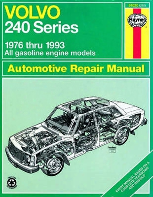 Volvo 240 Series Haynes Repair Manual 1976 - 1993