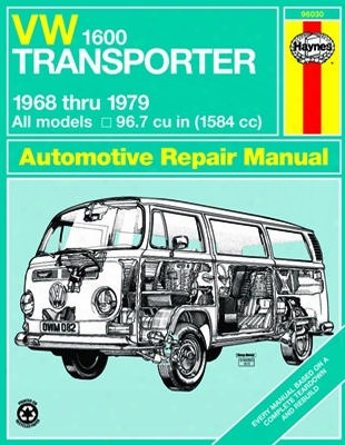 Vw 1600 Transporter Haynes Repair Manual 1968 - 1979