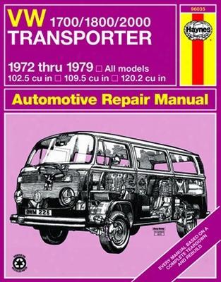 Vw 1700/1800/2000 Transporter Haynes Repair Manual 1972 - 1979